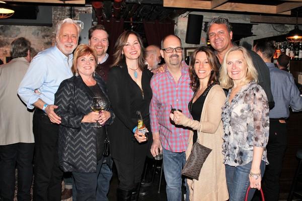 Martin Van Treuren, John Treact Egan, Becky Spencer, Linda Eder, Brad Oscar, Michelle Millardi, Ray McLeod and Christy Tarr-McVey
