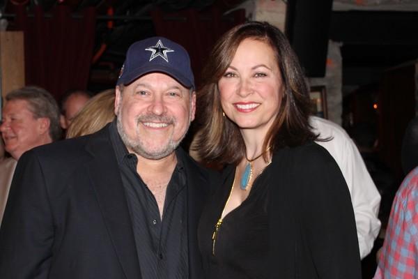 Frank Wildhorn and Linda Eder