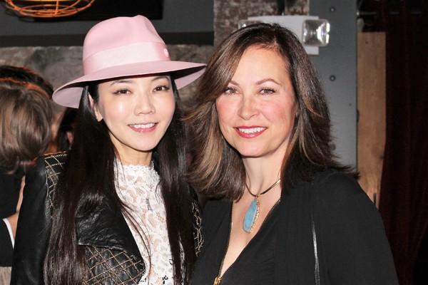 Takako Wildhorn and Linda Eder Photo