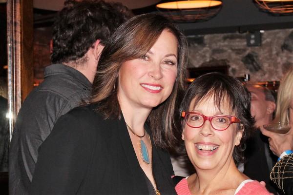 Linda Eder and Sandy Rosenberg Photo