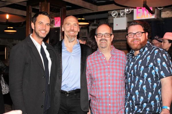 Douglas Ladnier, John Schiappa, Brad Oscar and Diego Prieto