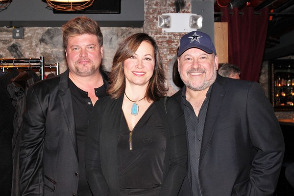 Rob Evan, Linda Eder and Frank Wildhorn