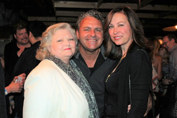 Beth Durham, Ray McLeod and Linda Eder