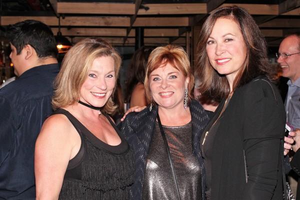 Nita Moore, Rebecca Spencer and Linda Eder