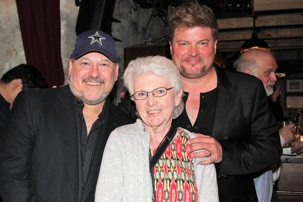 Frank Wildhorn, Genevieve Rafter Keddy and Rob Evan      Photo