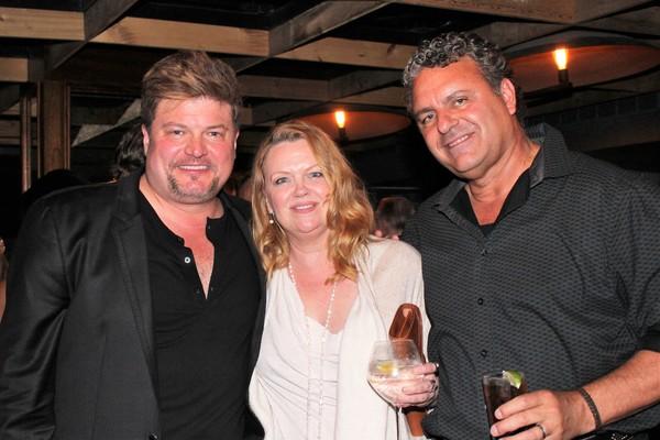 Rob Evan, Leah Hocking and Ray McLeod