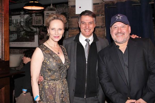 Laila Robbins, Robert Cuccioli and Frank Wildhorn