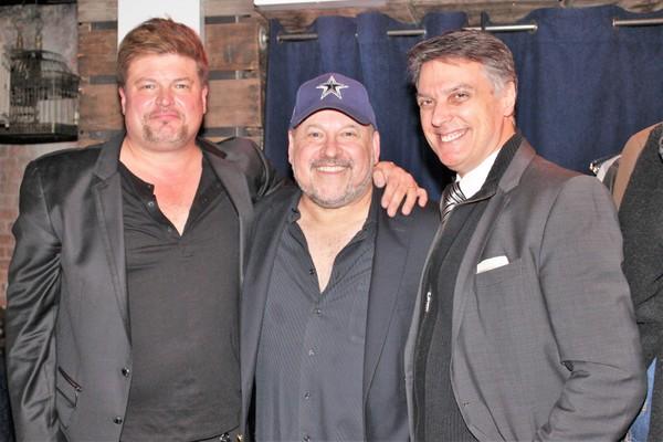 Rob Evan, Frank Wildhorn and Robert Cuccioli