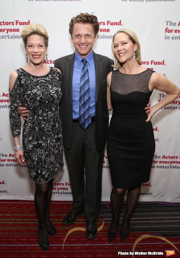 Marin Mazzie, Jason Danieley and Rebecca Luker