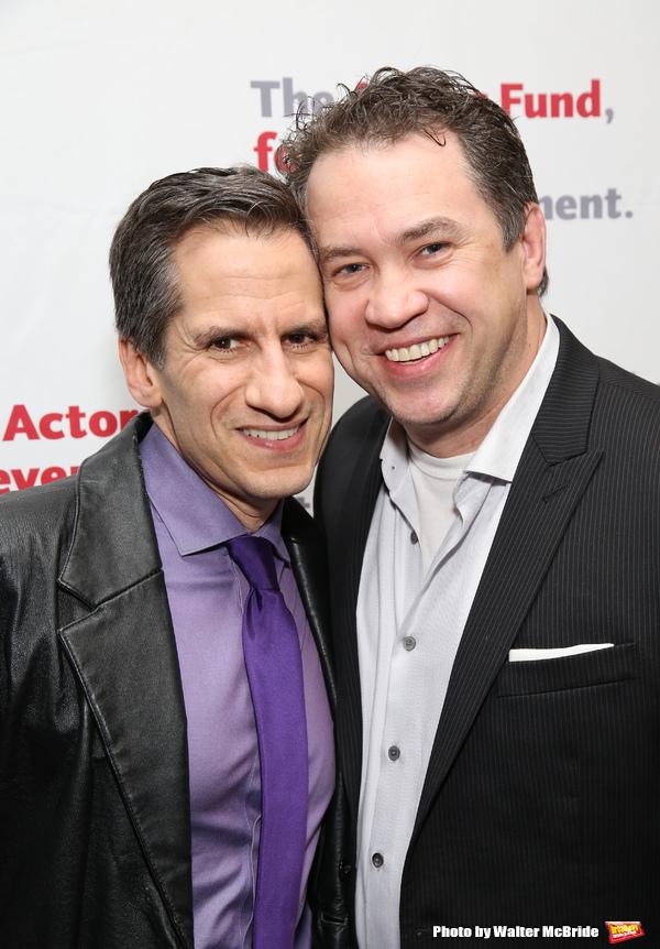 Seth Rudetsky and James Wesley