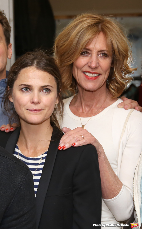 Keri Russell and Christine Lahti