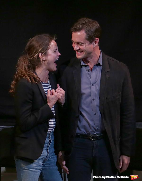 Keri Russell and Hugh Dancy