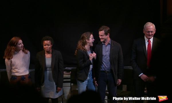Zoe Kazan, Quincy Tyler Bernstine, Keri Russell, Hugh Dancy and Victor Garber Photo