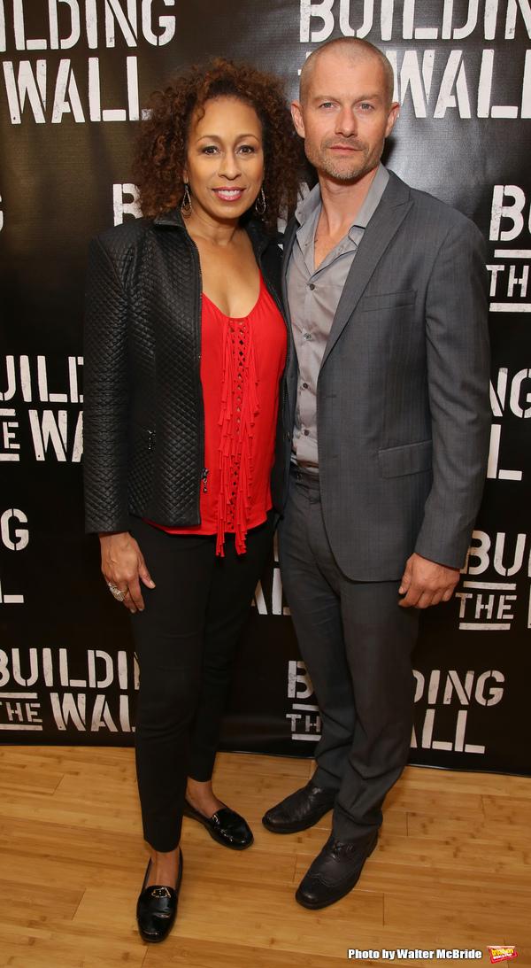 Tamara Tunie and James Badge Dale