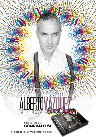 Alberto Vázquez publica 'Recordando Eurovisión', un álbum homenaje al popular festival