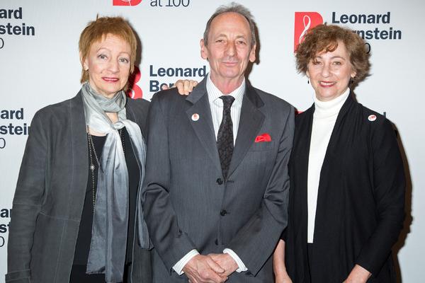 Jamie Bernstein, Alexander Bernstein, Nina Bernstein Photo