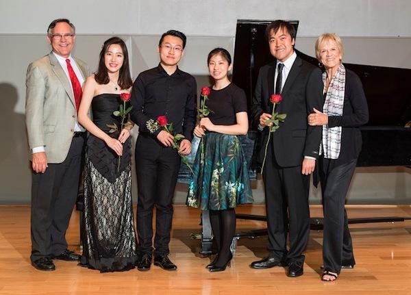 Joseph Holt, Ying Li, Lin Ye, Min Joo Yi, Aaron Chow, and Lee Dougherty Ross