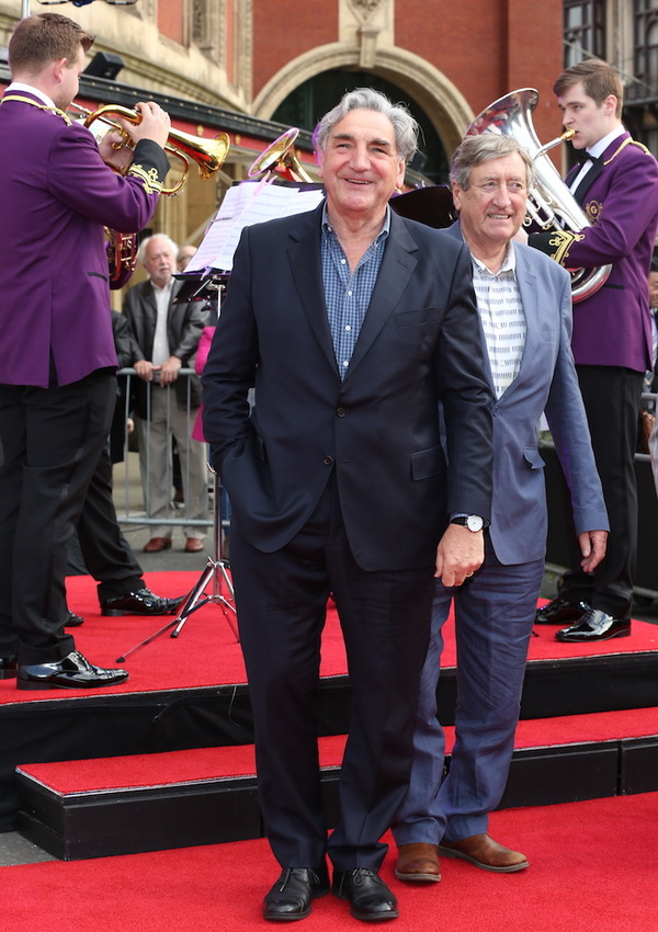 Jim Carter and Philip Jackson
