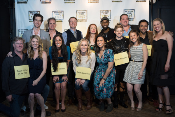 The Spellers of the 2nd Annual Broadway Bee with Broadway Bound Kids Creative Team Photo credit: Michelle Kinney