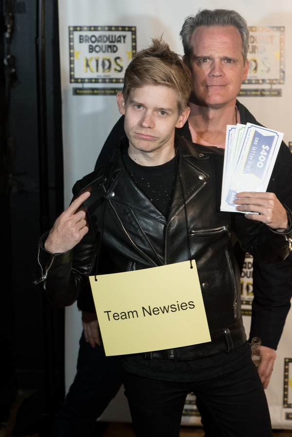 Andrew Keenan-Bolger and Michael Park