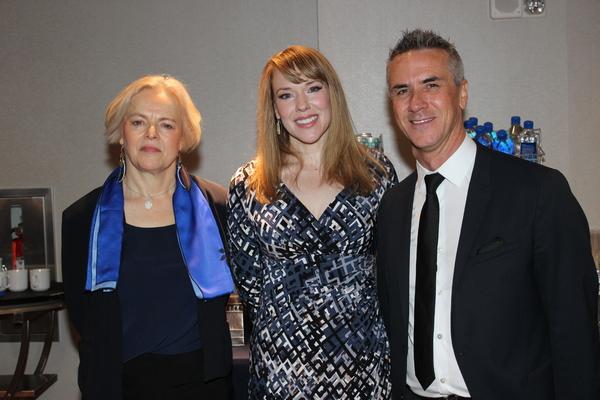 Ellen McLaughlin, Emily Skinner and Luc V
