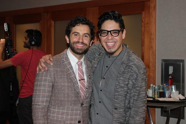 Brandon Uranowitz and George Salazar