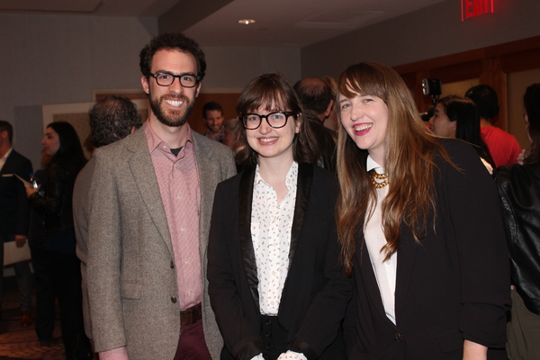 Josh Luxenberg, Rosalind Grush and Meghan Finn Photo