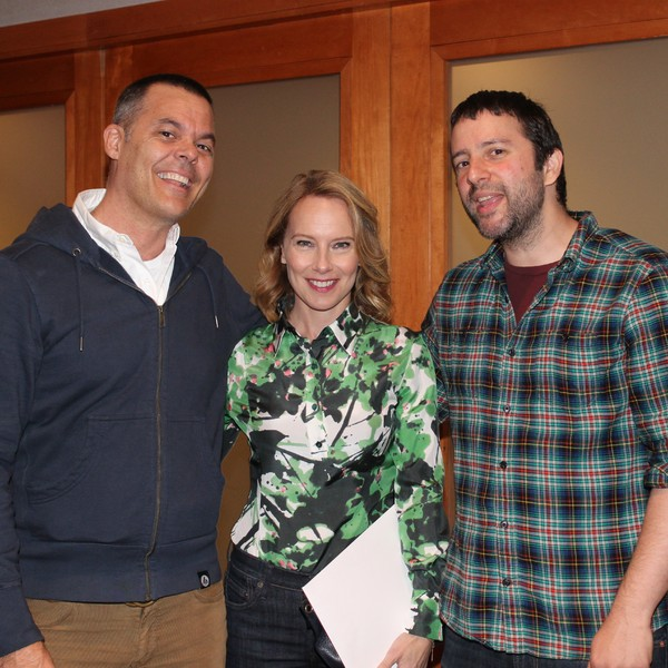 Adam Block, Amy Ryan and Itamar Moses