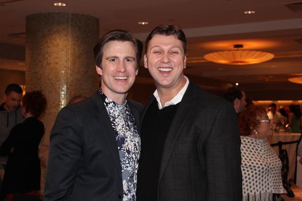 Gavin Creel and Warren Carlyle