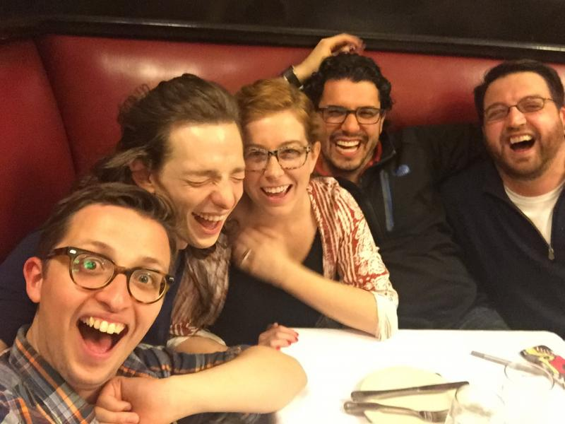 The Broadwaysted Podcast Gets Silly at Sardi's with DEAR EVAN HANSEN's Mike Faist & Will Roland