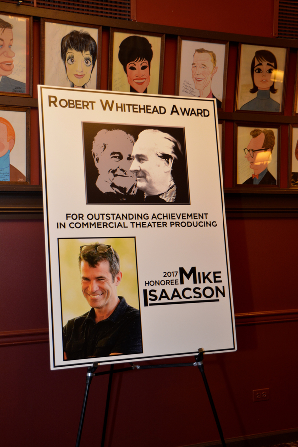 Robert Whitehead Award Ceremony Photo