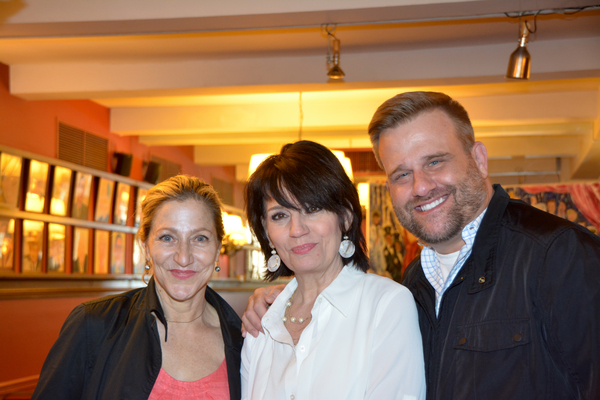 Edie Falco, Beth Leavel and Stephen Wallem