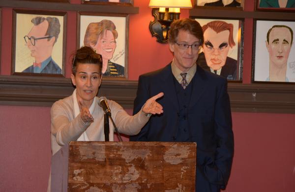 Jeanine Tesori and Dick Scanlan