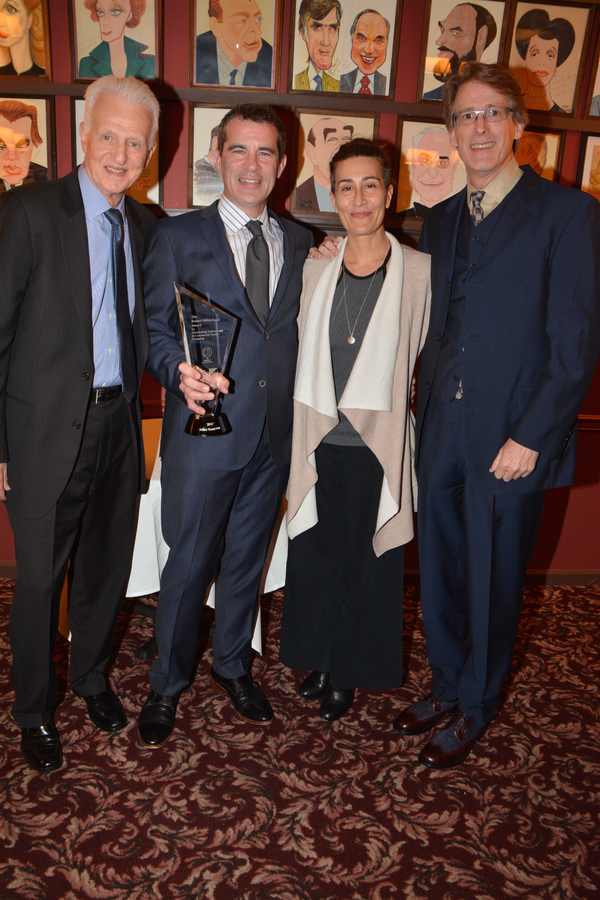 Tom Viertel, Mike Isaacson, Jeanine Tesori and Dick Scanlan