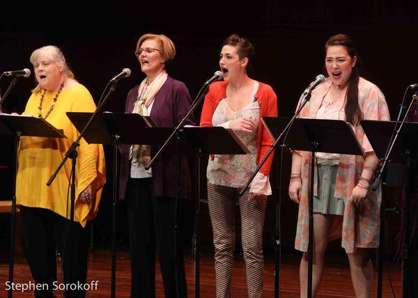 Heather MacRae, Karen Mason, Rose DeFlumeri, Allison Lea Bender Photo