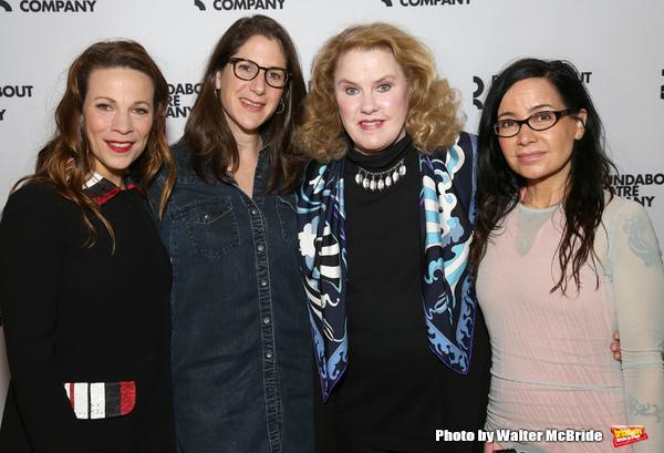 Lili Taylor, Anne Kauffman, Celia Weston and Janeane Garofalo