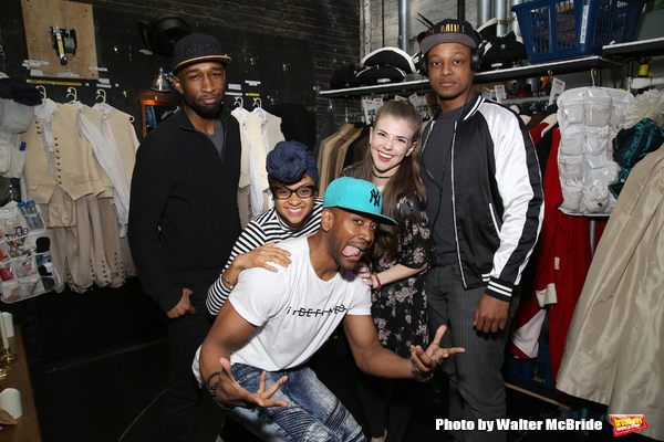 Donald Webber, Bryan Terell Clark, Syndee Winters, Eliza Ohman and J. Quinton Johnson Photo