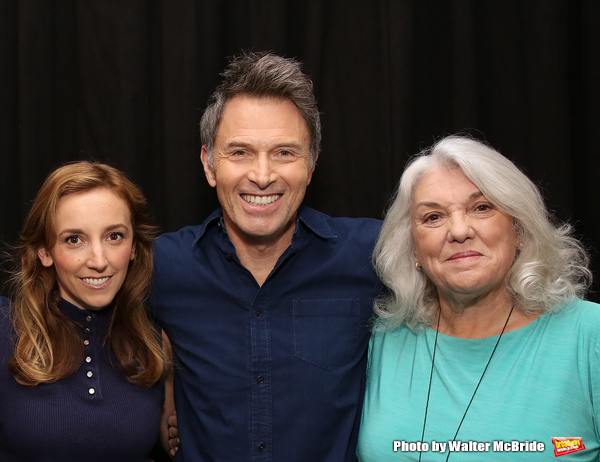 Adrienne Campbell Holt, Tim Daly and Tyne Daly