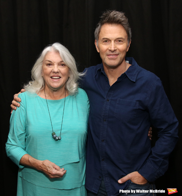 Tyne Daly and Tim Daly