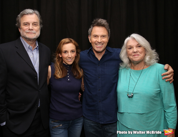John Procaccino, Adrienne Campbell Holt, Tim Daly and Tyne Daly
