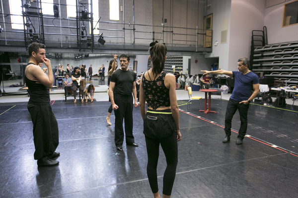 Photo Flash: Sergio Trujillo and More in Rehearsal for ARRABAL at A.R.T.