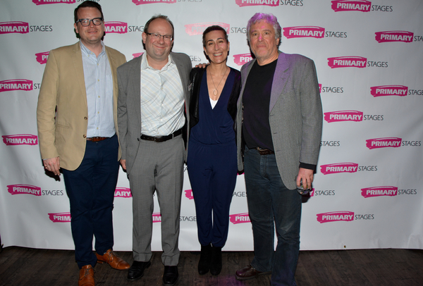 Shane Hudson, Andrew Leynse, Jeanine Tesori and Casey Childs