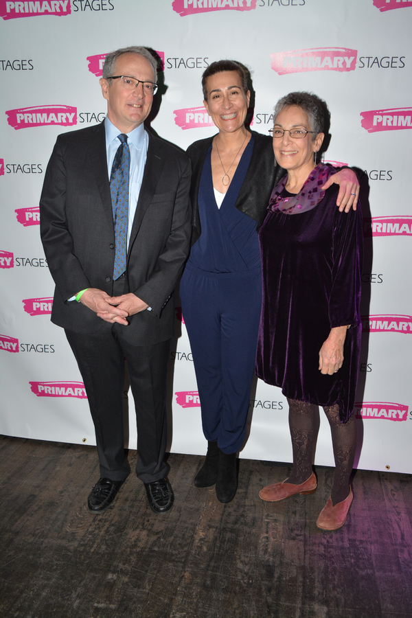 Allen Zerkin, Jeanine Tesori and Ellen Einhorn Zerkin
