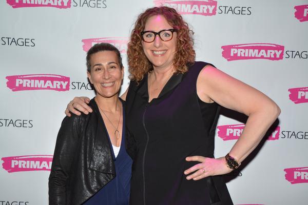 Jeanine Tesori and Judy Gold