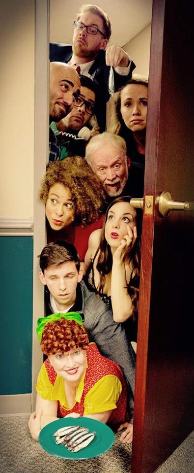 BWW Review: Angels in England, or rather ACT 1's NOISES OFF