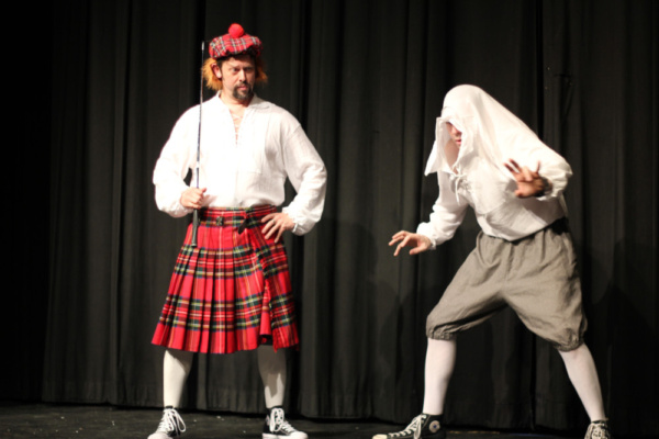 Photo Flash: Two Casts Bring COMPLETE WORKS OF WILLIAM SHAKESPEARE (ABRIDGED) to Playhouse 1960