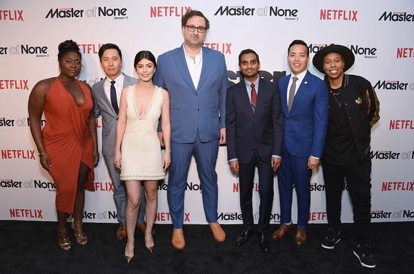 NEW YORK, NY - MAY 11:  (L-R) Danielle Brooks, Kelvin Yu, Alessandra Mastronardi, Eri Photo