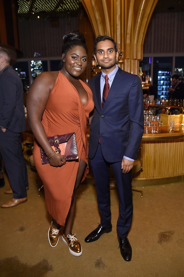NEW YORK, NY - MAY 11:  Actress Danielle Brooks and Co-creator, Executive Producer & Actor Aziz Ansari attends the Netflix Master Of None S2, Premiere NY Screening 2017 on May 11, 2017 in New York City.  (Photo by Michael Loccisano/Getty Images for Netfli