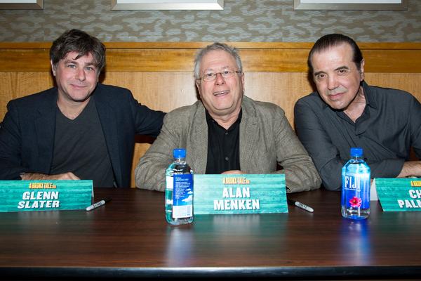 Glenn Slater, Alan Menken, Chazz Palminteri