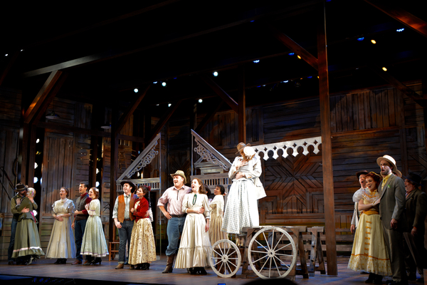Photo Coverage: The Cast of OKLAHOMA! at The John W. Engeman Theater Northport Take Opening Night Bows